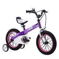 PJ 自転車 子供用自転車 青紫 サイズ12インチ、14インチ、16インチ、18インチ アウトドアアウト 子供と幼児に適しています ( 色 : パープル ぱ゜ぷる , サイズ さいず : 12 inch )