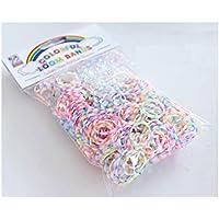 Rainbow Loom  専用ゴム 《 バブルマルチタイプ 》 ミックスパック 600個入り (Sフック24個付き)