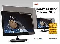 2Way NANOBLINDプライバシーフィルタ23インチ用wide-a Monitors ( W 201/ 16インチx H 111/ 4インチ)