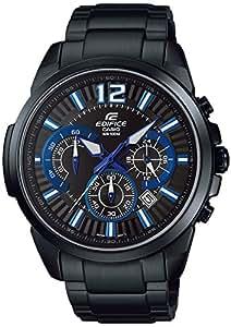 [カシオ]CASIO 腕時計 EDIFICE クロノグラフ 国内メーカー保証1年付き EFR-535BKJ-1A2JF メンズ