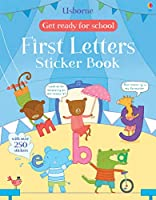 Get Ready for School First Letters Sticker Book (Get Ready for School Sticker Books)