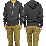 FRED PERRY 通販 [FRED PERRY(フレッドペリー)] メンズジップアップパーカー J6314/LOOPBACK HOODED SWEAT グレー [並行輸入品]