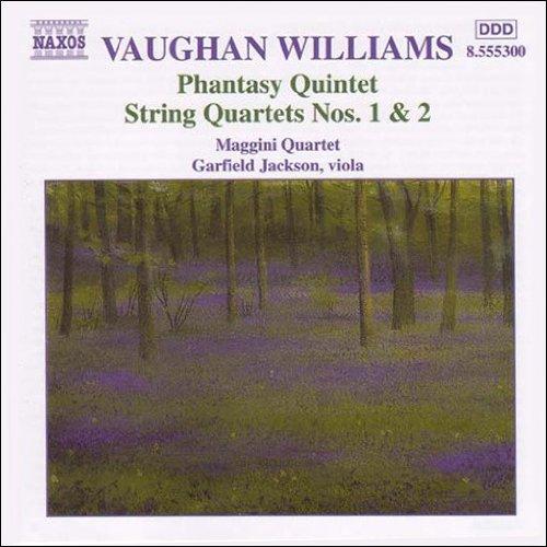 ヴォーン・ウィリアムズ:幻想的五重奏曲/弦楽四重奏曲第1番, 第2番