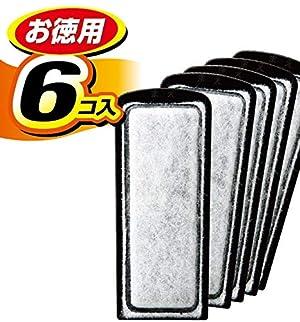 ジェックス 活性炭スリムマット6個入 スリムフィルター用交換ろ過材
