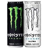 モンスターエナジー 355ml×24缶(1ケース) + モンスターウルトラ 355ml×24缶(1ケース)