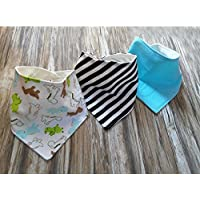6 # 3pcs-baby-boy-girls-kids-bandana-bibs-saliva-towel-dribble-triangle-head-scarf