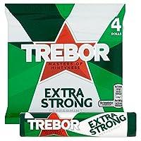 Trebor余分強いペパーミントミント4×41グラム (x 2) - Trebor Extra Strong Peppermint Mints 4 x 41g (Pack of 2) [並行輸入品]