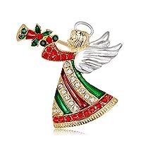 CSHIJI ブローチ メンズ レディース シャツ スーツ ブローチ ピン おしゃれ 個性 スカーフクリップ タックピン ジュエリー 服装のアクセサリー 胸飾り 合金製 雰囲気 クリスマス プレゼント