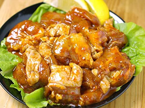 韓国で大ブームの辛口タレ漬け鶏焼肉「プルダッ(火の鶏)」400g チーズダッカルビにも♪(タッカルビ・チーズタッカルビ)【冷凍・冷蔵可】