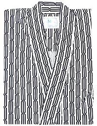 寝巻き/旅館浴衣 (男女兼用仕立上り/共紐付き) フリーサイズ
