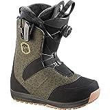 SALOMON(サロモン) スノーボード ブーツ アイヴィー ボア (IVY BOA) STR8JKT レディース L39146800 ブラック/レオパード 22