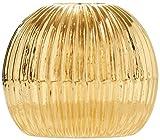 KIYOHARA 丸刻みループエンド15mm ゴールド 2個入り SUN90-73