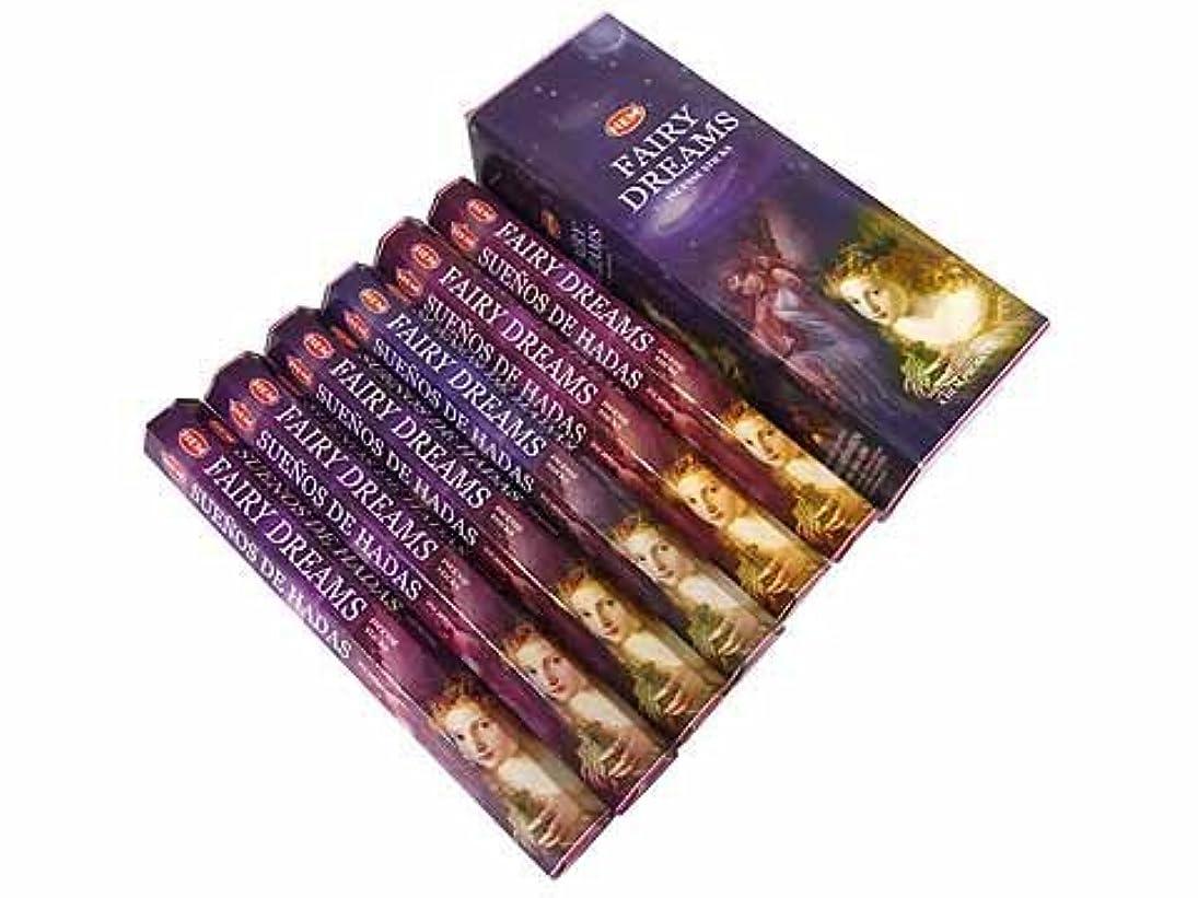 ご注意たくさんの野心1 X Fairy Dreams - Box of Six 20 Stick Tubes, 120 Sticks Total - HEM Incense by HEM 6 Pack 20 Stick