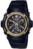[カシオ] 腕時計 ジーショック Black & Gold Series 世界6局対応電波ソーラー AWG-M100SBG-1AJF ブラック