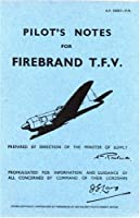 Blackburn Firebrand Tfv -pilot's Notes