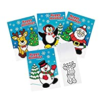 72 Happy Holidays Colouring Books 13cm X 18cm 6 Pages Each New