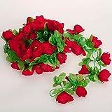 Amazon.co.jpHommy 花冠 フラワー ヘッドドレス バラ 結婚式 ウェディング イベント ブライダル 華麗