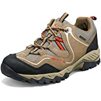Clorts Men's Hiking Shoe Outdoor Waterproof Walking Trekking Sneaker HKL826