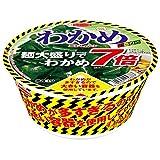 【販路限定品】エースコック わかめラーメン ごま・しょうゆ 麺大盛りでわかめ7倍 117g×12個