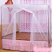 蚊帳 約 3畳 涼しく 快適 軽涼 メッシュ 赤ちゃん ベビー ベッド ムカデ 虫 防止 簡単 吊り下げ 高さ220X幅150X長さ200