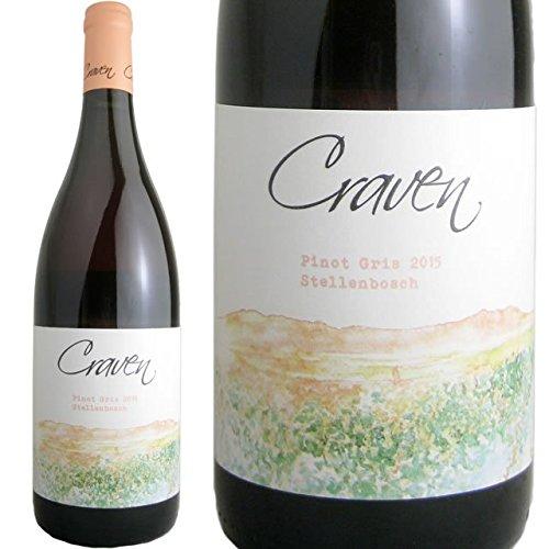 ピノ・グリ 2015 クラヴァン・ワインズ 南アフリカ 白ワイン 750ml