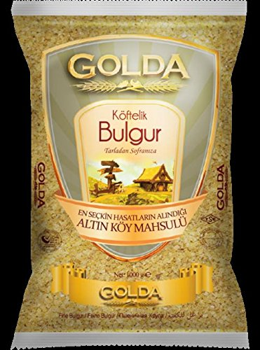 Golda 挽割り小麦 ブルグル 細粒 Fine Bulgur(Koftelik Bulgur) 1kg