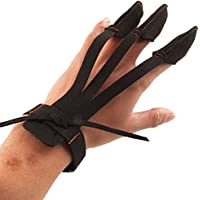 Lovoski アーチェリー3フィンガーグローブ アーチェリープロテクター グローブ アーチェリー手袋 黒