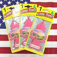 リトルツリー モーニングフレッシュ エアフレッシュナー 3個セット Morning Fresh Little Trees 芳香剤 フレグランス