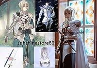 コスプレ衣装 ベディヴィエール Bedwyr Fate/Grand Order Fate/GO FGO コスチュム フェイト・グランドオーダー 全身鎧*剣*2*ウィッグ 付き