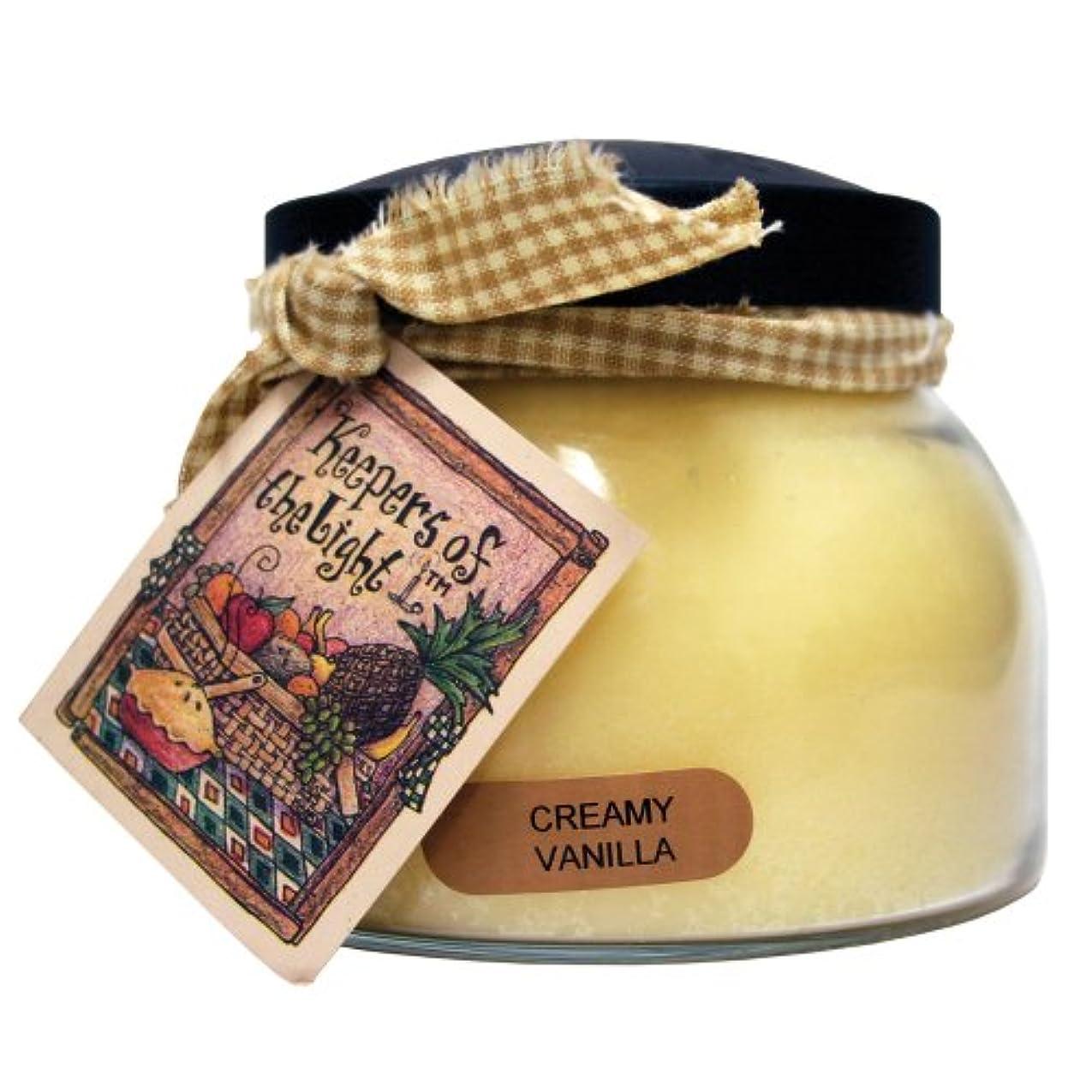 賞賛するフォージ誇大妄想A Cheerful Giver Creamy バニラ ベイビージャーキャンドル 22oz JM108