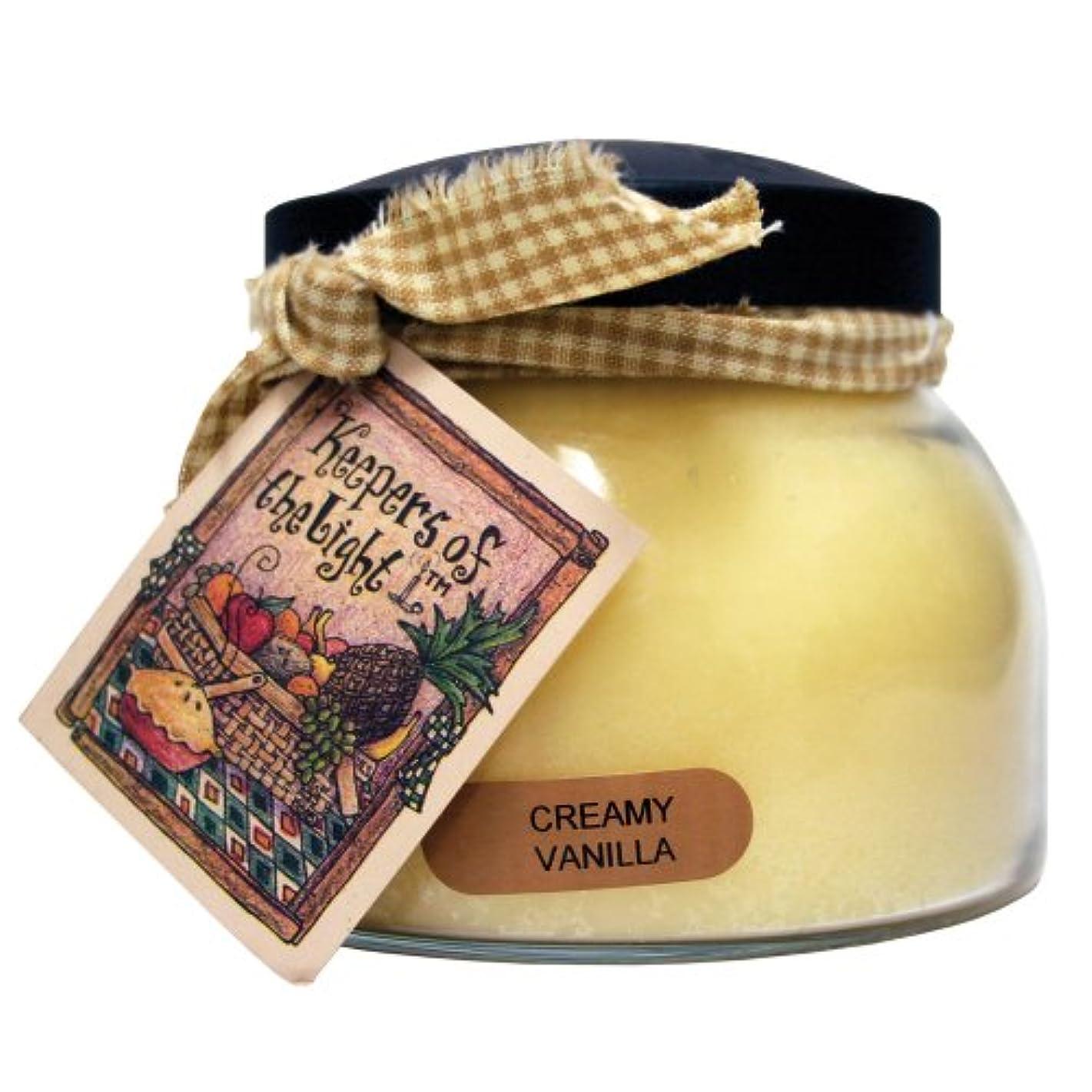 アプローチオートまたA Cheerful Giver Creamy バニラ ベイビージャーキャンドル 22oz JM108