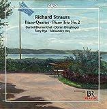 Strauss: Piano Quartet in C Major, Op. 13, TrV 137 & Piano Trio No. 2 in D Major, TrV 71