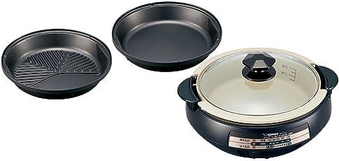 象印 グリル鍋(ホットプレート) 3枚タイプ あじまる ブラウン EP-PX30AM-TA