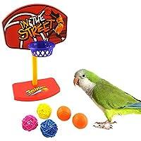 Demiawaking ペット用品 噛む玩具 ストレス解消 インコ 鳥 オウム  知育訓練おもちゃ・シュート