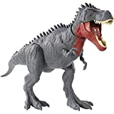 Jurassic World Massive Biters, Tarbosaurus, Larger-sized Dinosaur Action Figure with Tail-activated Strike and Chomping Action, , Movable Joints, Movie-authentic Detail; Ages 4 and Up