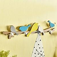 家庭の照明- アメリカの田舎の鳥の服のフッククリエイティブエントランスポーチフィッティングルームフック壁掛けキーフレーム装飾的なフック ( 色 : 2# )