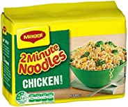 MAGGI 2 Minute Noodles, Chicken, 5 Pack, 360g