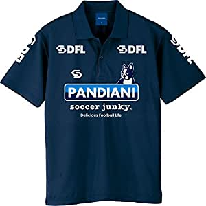 claudio pandiani(クラウディオ・パンディアーニ) Soccer Junky DFLPOLOシャツ Dryポロシャツ SJ17201 ネイビー M