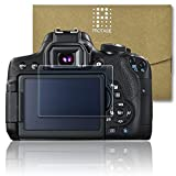 PROTAGE Canon EOS Kiss X8i / X7i 用 ガラスフィルム ガラス 製 フィルム 液晶保護フィルム 保護フィルム 液晶プロテクター キヤノン イオス キス X8i / X7i