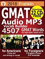 2018 Franklin GMAT Audio MP3 Vocab Builder: Download 22 CDs: 4507 GMAT Words For Your High GMAT Score [並行輸入品]
