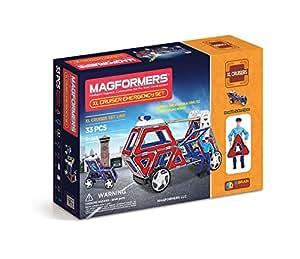 マグフォーマー 33ピースセット  XL Cruisers Emergency Set 並行輸入品