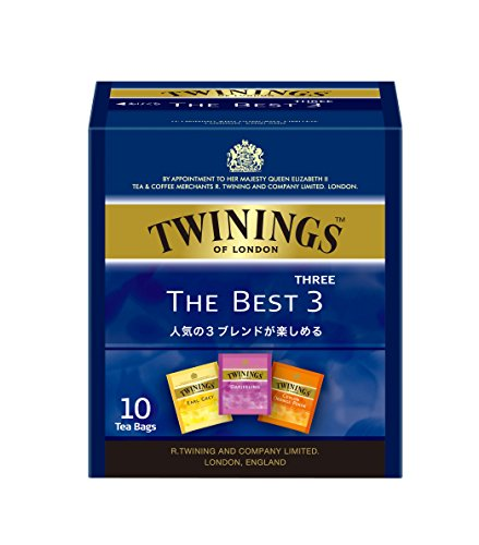 トワイニング ティーバッグ ザ・ベストスリー 1セット 30袋:10袋×3箱