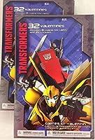 Transformersバレンタインカード( 32) &ステッカー( 35)
