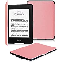 Fintie for Kindle Paperwhite ケース 超薄 軽量 保護カバー オートスリープ機能付き (Kindle Paperwhite 第5世代、第6世代、第7世代、マンガモデル 専用)【Kindle Paperwhite Newモデル 第10世代 2018に適応できない】(ピンク)