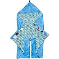 Freekidds Couverture Nomade Tendance Snoozebaby Bleu Ciel 80 x 80 cm