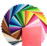 ママの 愛情いっぱい ハンドメイド 品 カラー フェルト DIY 1.0 mm 40色 30cm x 30cm