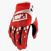 スポーツアウトドアスポーツグローブフィットネスライディンググローブ冬長い指の屋外スポーツの機器を暖かく保つために (Color : 赤, サイズ : M)