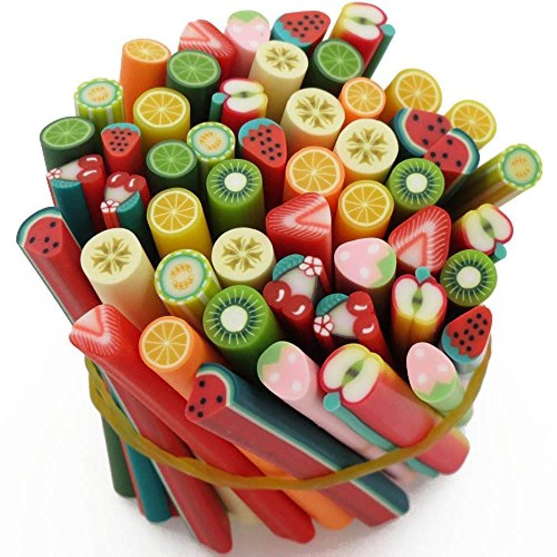 傾いた雑多な保存スライス棒 人気フルーツ棒 12種類限定 約50本セット