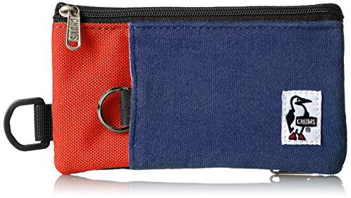 [チャムス] スマホケース Smart Phone Case Sweat Nylon CH60-2052-N031-00 N031 H・Navy/Tomato
