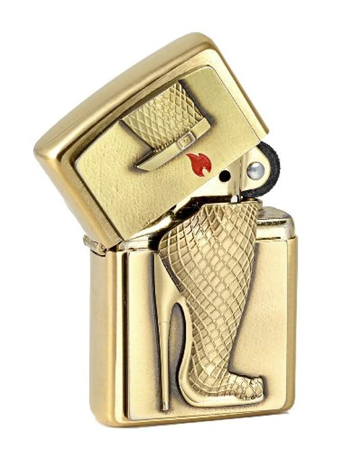 ロック解除コマンド自己ヨーロッパ直輸入Zippo ジッポー High Heel Emblem 2003333
